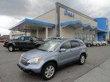 2008 Glacier Blue Metallic Honda CR-V EX-L 4WD #62159295