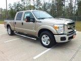 2012 Pale Adobe Metallic Ford F250 Super Duty XLT Crew Cab #62194743