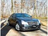 2009 Thunder Gray ChromaFlair Cadillac CTS Sedan #62194491