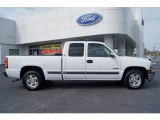 2002 Summit White Chevrolet Silverado 1500 LS Extended Cab #62194241
