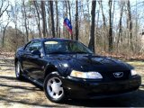2000 Black Ford Mustang V6 Coupe #62194697