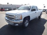 2012 Summit White Chevrolet Silverado 1500 LS Extended Cab #62194424