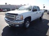 2012 Summit White Chevrolet Silverado 1500 LT Crew Cab 4x4 #62194420
