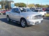 2010 Bright Silver Metallic Dodge Ram 1500 Lone Star Crew Cab 4x4 #62194130
