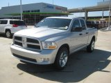 2012 Bright Silver Metallic Dodge Ram 1500 Express Quad Cab #62194403