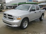 2012 Bright Silver Metallic Dodge Ram 1500 Express Crew Cab #62194400