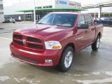 2012 Deep Cherry Red Crystal Pearl Dodge Ram 1500 Express Crew Cab 4x4 #62194397