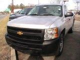 2012 Silver Ice Metallic Chevrolet Silverado 1500 Work Truck Regular Cab #62194070