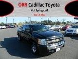 2010 Black Chevrolet Silverado 1500 LS Crew Cab #62194355