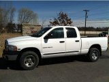 Bright White Dodge Ram 1500 in 2003