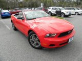 2012 Race Red Ford Mustang V6 Premium Convertible #62194315