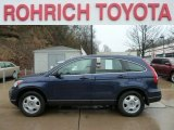 2010 Royal Blue Pearl Honda CR-V LX AWD #62244180