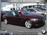 2008 Barbera Red Metallic BMW 3 Series 335i Coupe #62243535