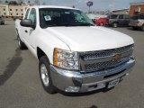 2012 Summit White Chevrolet Silverado 1500 LT Extended Cab 4x4 #62243851