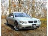 2003 Titanium Silver Metallic BMW 7 Series 745i Sedan #62243840