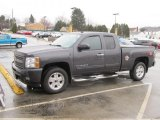 2010 Taupe Gray Metallic Chevrolet Silverado 1500 LT Extended Cab 4x4 #62244154