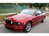 2005 Redfire Metallic Ford Mustang GT Premium Convertible #62243497