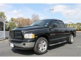 2004 Black Dodge Ram 1500 SLT Quad Cab #62243795