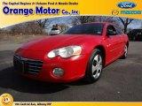 2004 Chrysler Sebring Indy Red