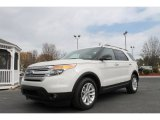 2011 White Suede Ford Explorer XLT #62243789