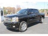 2010 Black Chevrolet Silverado 1500 LTZ Crew Cab 4x4 #62243782