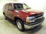 2005 Sport Red Metallic Chevrolet Tahoe LS 4x4 #62243743