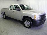 2011 Sheer Silver Metallic Chevrolet Silverado 1500 Extended Cab #62243740