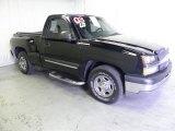 2003 Black Chevrolet Silverado 1500 LS Regular Cab #62243736
