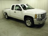 2012 Summit White Chevrolet Silverado 1500 LT Extended Cab #62243730