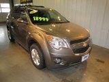 2010 Mocha Steel Metallic Chevrolet Equinox LTZ #62243724