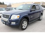 2008 Ford Explorer Dark Blue Pearl Metallic