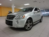 2009 Mercedes-Benz ML Iridium Silver Metallic