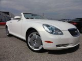 2003 Lexus SC White Gold Crystal