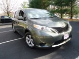 2012 Cypress Green Pearl Toyota Sienna LE #62243908