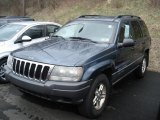 2002 Steel Blue Pearlcoat Jeep Grand Cherokee Laredo 4x4 #62312184