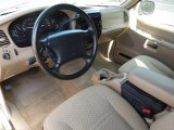 2000 Ford Explorer XLS Medium Prairie Tan Interior