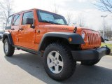 2012 Jeep Wrangler Unlimited Crush Orange