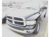 2003 Black Dodge Ram 1500 SLT Quad Cab 4x4 #62312493
