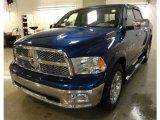 2011 Deep Water Blue Pearl Dodge Ram 1500 Laramie Crew Cab 4x4 #62312491