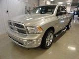 2010 Bright Silver Metallic Dodge Ram 1500 Big Horn Quad Cab 4x4 #62312488