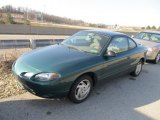 2001 Tropic Green Metallic Ford Escort ZX2 Coupe #62312088