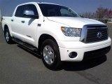 2010 Super White Toyota Tundra Limited CrewMax 4x4 #62312443