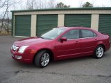 2008 Redfire Metallic Ford Fusion SEL V6 AWD #62312059