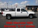 2005 Summit White Chevrolet Silverado 1500 Z71 Extended Cab 4x4 #62312750