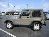 2006 Light Khaki Metallic Jeep Wrangler X 4x4 #62312730