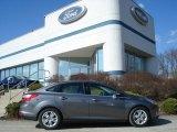 2012 Sterling Grey Metallic Ford Focus SEL Sedan #62312018