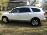 2009 White Diamond Tricoat Buick Enclave CXL #62312376