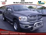2007 Mineral Gray Metallic Dodge Ram 1500 SLT Quad Cab #62312709