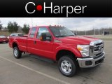 2012 Vermillion Red Ford F350 Super Duty XLT SuperCab 4x4 #62311956
