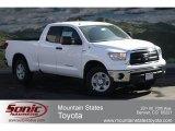 2012 Super White Toyota Tundra Double Cab 4x4 #62311933
